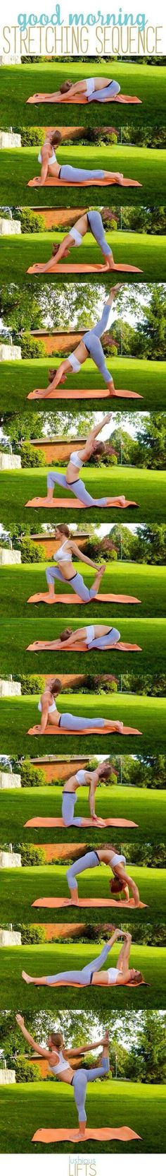 Yoga Workouts to Try at Home Today - Good Morning Stretching Sequence- Amazing Work Outs and Motivation for Losing Weight and To Get in Shape - Up your Fitness, Health and Life Game with These Awesome Yoga Exercises You Can Do At Home - Healthy Diet Ideas