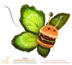 #1892-Hambugger-fly