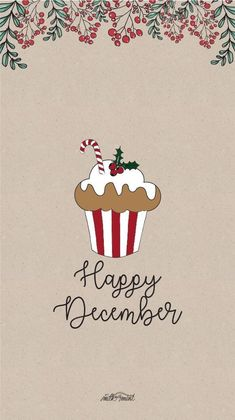 Happy December Happy Weekend As it gets colder be sure to take care of your skin with Scändic skincare Christmas Phone Wallpaper, Holiday Wallpaper, Thanksgiving Wallpaper, Illustration Noel, Christmas Illustration, Illustrations, Christmas Mood, Christmas Cards, Christmas Qoutes