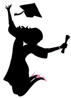 Graduation Cartoon, Graduation Images, Graduation Decorations, Graduation Cards, College Graduation, Graduation Templates, Graduation Silhouette, Illustration Mignonne, Bachelor
