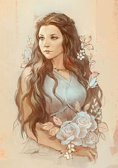 """Margaery was different, though. Sweet and gentle, yet there was a little of her…"