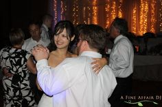 Wedding dance at Honey Creek Resort in Rathbun Lake, IA