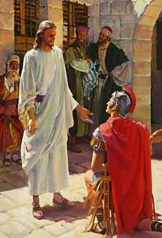 09-Jesus heals the son of the head of Prince Herod's palace, and the servant of a Roman centurion.