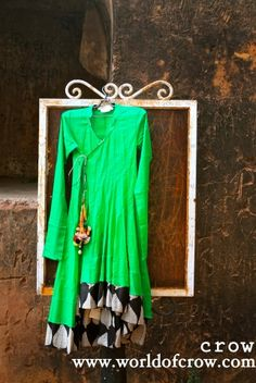 Buy Paroot Green Anarkali