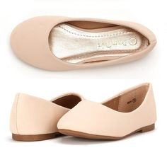 Dream Pairs MUY Mary Jane Casual Slip On Ballerina Flat (Toddler/ Little Girl) New