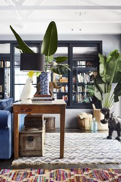 Each room mixes sophisticated design elements with fun ones like color, pattern, energetic art and even a swing.