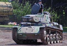 Stridsvagn Strv m/40L - Tank museum in Bovington