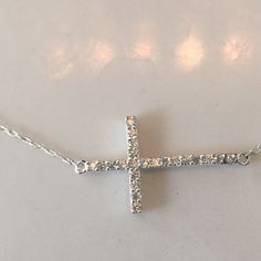 New Sterling silver cross necklace Bundle up and save Jewelry Necklaces