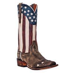"""Dan Post 13"""" Liberty Cowboy Western Boots. Picture of these in my locker.  a little bit obsessed"""