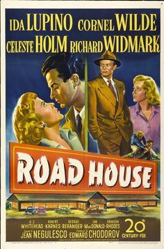 Splendid piece of noir fiction starring my two favorite noir actors -- Richard Widmark and Ida Lupino.