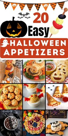 Halloween Appetizers For Adults, Appetizers For Kids, Halloween Desserts, Halloween Food For Party, Yummy Appetizers, Holiday Desserts, Holiday Baking, Holiday Recipes, Halloween Treats