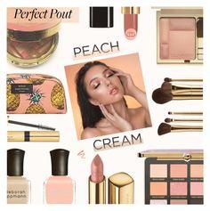 """Peach Lipstick"" by rasa-j ❤ liked on Polyvore featuring beauty, Gucci, Too Faced Cosmetics, Dolce&Gabbana, Deborah Lippmann, Estée Lauder, Sephora Collection, Ellis Faas, beautyset and peachlipstick"