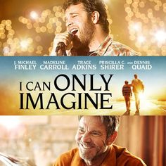 I CAN ONLY IMAGINE is a heartfelt, uplifting film based on a true story that demonstrates the power of forgiveness and redemption between Bart and his one-time, abusive father. Performances are especially strong in this highly popular movie. This film tells the story behind the highly successful song by that same title. This engaging movie tells the amazing true story behind Christian band MercyMe's iconic, history-making song I Can Only Imagine. Michael Finley, The Power Of Forgiveness, Abusive Father, Blockbuster Film, Inspirational Movies, Best Supporting Actor, Film Base, Song One, Billboard Music Awards