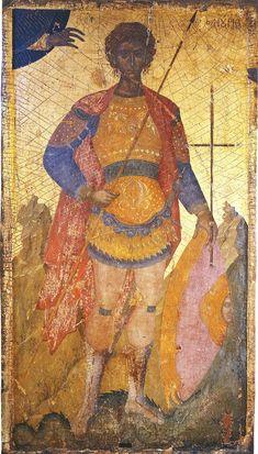 Фанурий Критский, Родосский, мч. (воин); XV в.; Греция. - православные мастерские «Русская Икона»