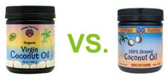 Virgin vs Regular: the difference is in the processing and flavor...fatty acids are supposedly not affected...virgin tastes more like coconut and regular has little to no coconut flavor (better for cooking things you don't want a hint of coconut in)...I'll be testing this theory :)
