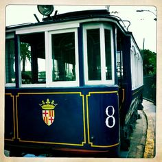 """The Tramvia Blau (Catalan for """"blue tramway"""") is one of Barcelona's three tram systems."""