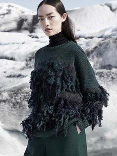 "knitGrandeur tumblr  maggieontherocks: "" Cos F/W 2015 Campaign. I'm in love!! """