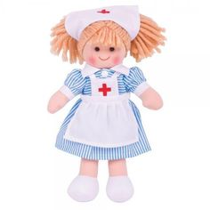 Nurse Nancy is always on call to help children care and treat injured teddies and dolls. Nurse Nancy is clam in a crisis and is very professional. Little Girl Names, Baby Names, Childrens Fancy Dress, Realistic Dolls, Plush Dolls, Rag Dolls, Toy Craft, Baby Girl Gifts, Toy Store
