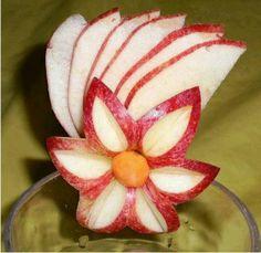 Beautiful fruit art