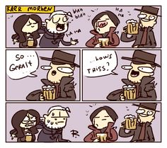 The Witcher 3, doodles 230 by Ayej