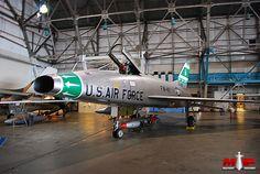 Picture of the North American F-100 Super Sabre