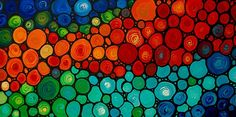 Colorful Abstract Painting Rainbow Art Mosaic by terracegallery Rainbow Art, Rainbow Colors, Alcohol Ink Crafts, Mosaic Projects, Colorful Pictures, Mosaic Art, Art Lessons, Fine Art America, Abstract Art