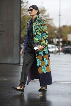 Giovanna Battaglia Paris Fashion Week, Day 8