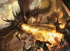 Magic: the Gathering Art. Best MTG Art, updated daily with new and old artworks. Organized by artists and mtg sets, Art of Magic the Gathering is an ever growing collection of amazing magic fantasy artworks. Fantasy Creatures, Mythical Creatures, Dragons, Mtg Art, Little Dragon, Dragon Design, Creature Concept, Fantasy Inspiration, Fantasy Artwork