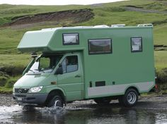 Mercedes sprinter camping car.