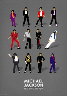 Michael Jackson - The king of pop . Designed by Rany Atlan aka TOTAL LOST,Michael Jackson,music poster,art poster,Michael Jackson fans art,Etsy,Michael Jackson art
