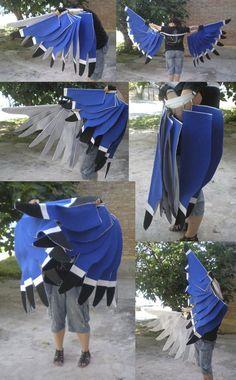 Zazu's wings by XxEstelxX on DeviantArt