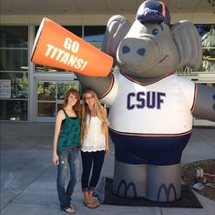First Day!! #CSUF Cal State University Fullerton