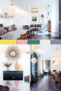 colors #kitchen #livingroom