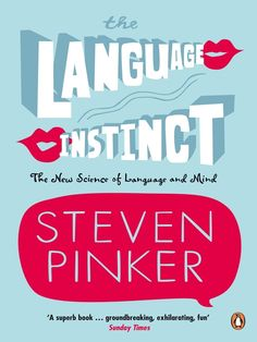 Want to know how we go from wailing pink blobs to articulate grown-ups? The Language Instinct by Steven Pinker is a must read.