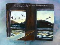 Miss Hammond Dunaway. Art journal / sketchbook inspiration.