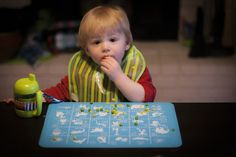 Ever since Caleb started eating more and more on his own, we've been trying to find the best way to keep the table somewhat clean, and so have been trying a few different placemat options. Placemat, Food Grade, Feel Good, Posts, Eat, Tableware, Blog, Messages, Dinnerware