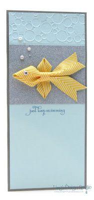 By Vera Yates Ling. Ribbon fish! So cute!