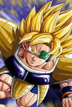 """""""Bardock as the """"first"""" Super Saiyan ever."""" I doubt he was (mention of a golden ape who blew up the first planet Vegeta), but since he jumped back in time, there is the possible paradox happening... Where's his scar, by the way?? O.o"""