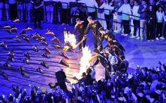 The young athletes who lit the cauldron - 1 year on. Adelle Tracey is from Godalming, Surrey.