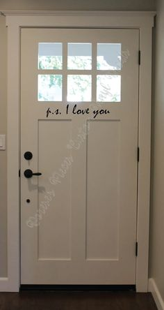 I Love You wall decal - Custom Vinyl Lettering and Decals - P. I Love You wall decal Custom Vinyl Lettering and Decals Home Improvement Projects, House, Home Projects, Home, Home Improvement, Remodel, Home Remodeling, Home Renovation, Renovations