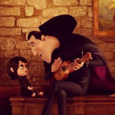 Hotel Transylvania - the ukulele was played by ukulele hero Aldrine Guerrero