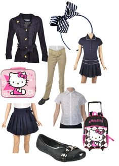 Shopping for school uniforms from #CookiesKids