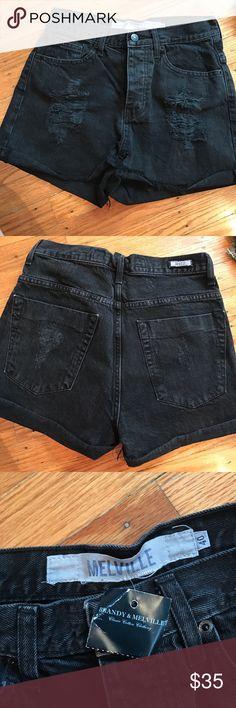 Brandy Melville denim shorts Very comfortable high waisted shorts Brandy Melville Shorts Jean Shorts