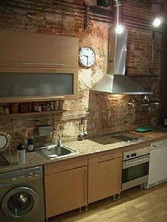 Loft Kitchen Loft Kitchen, Kitchen Reno, Urban Rooms, Attic Spaces, Lofts, Solitude, Decoration, Condo, Kitchens