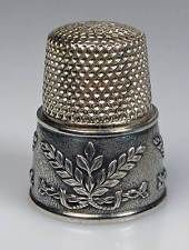 thimble sterling silver Girlande Thorvald Greif top condition
