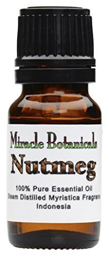 Nutmeg essential oil is commonly used for its anti-inflammatory and sedative properties to relieve muscle and joint pains. Nutmeg is also used for menstrual pain and cramps as well as balancing the h...