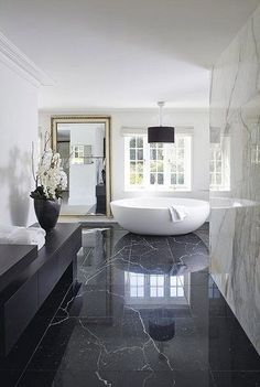 cool nice 10 black luxury bathroom design ideas by www.tophome-decor...... by http://www.top21-home-decor-ideas.xyz/bathroom-designs/nice-10-black-luxury-bathroom-design-ideas-by-www-tophome-decor/