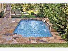 Small pools come in a diverse selection of shapes, sizes and sorts. It's possible to also get it installed in your home if you possess a pool in the backyard. If you're prepared to get a pool, consider the advantages… Continue Reading → Inground Pool Designs, Swimming Pool Designs, Backyard Pool Landscaping, Backyard Pool Designs, Small Backyard Pools, Landscaping Ideas, Backyard Ideas, Small Backyards, Small Swimming Pools