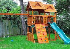 Diy Playground Ideas For Backyard Playground Ideas For Small Backyards Natural Playground Ideas For Backyard Small Backyard Playground Designs For Kids Backyard Playground Sets, Home Playground Equipment, Dog Backyard, Dog Playground, Playground Design, Small Backyard Landscaping, Backyard For Kids, Diy For Kids, Playground Ideas
