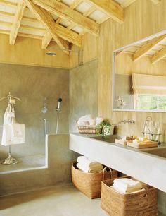 DIY Cool Rustic Bathroom Designs
